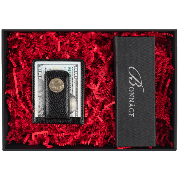 Bonnage Buffalo Nickel Money Clip Wallet Luxury Gift