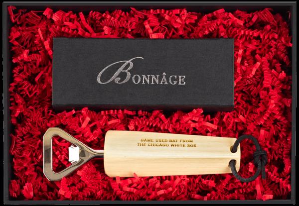 Chicago White Sox Game Used Baseball Bat Bottle Opener Luxury Gift