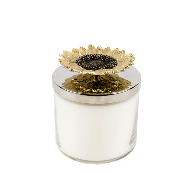 Luxury Sunflower Candle