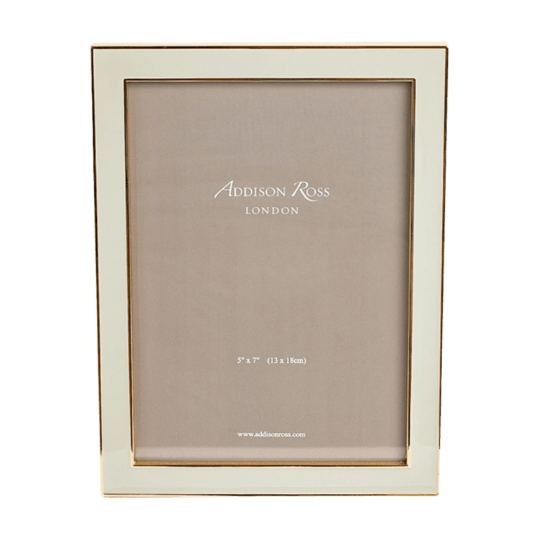 Gold plated picture frame