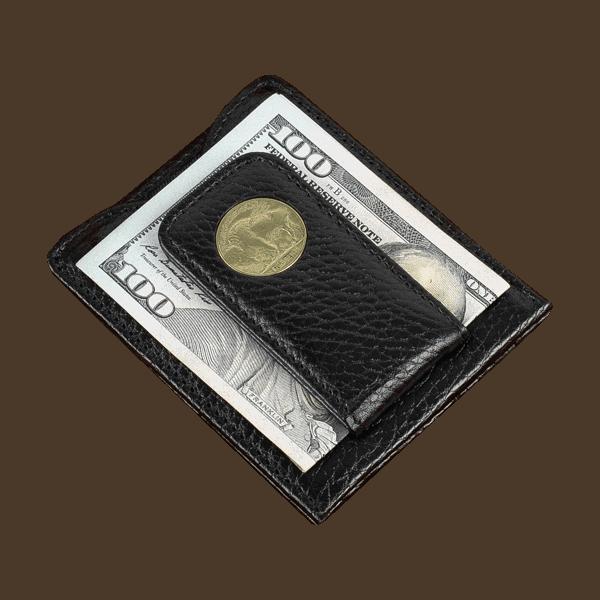 Buffalo Nickel Money Clip Wallet