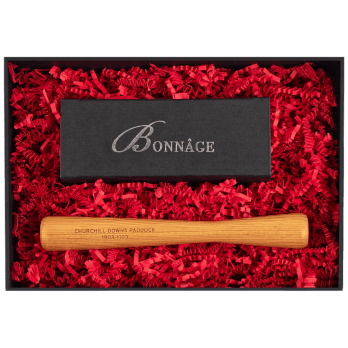 Churchill Downs Paddock with Chocolate Brownies Luxury Gift Box Muddler Luxury Gift