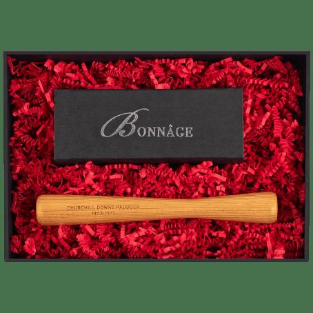 Churchill Downs Paddock with Chocolate Brownies Luxury Gift Box Muddler Luxury Gift