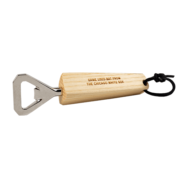 Chicago White Sox Game Used Bat Bottle Opener