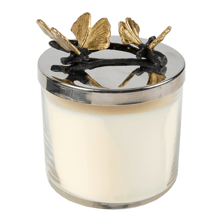 Butterfly Ginkgo Scented Candle