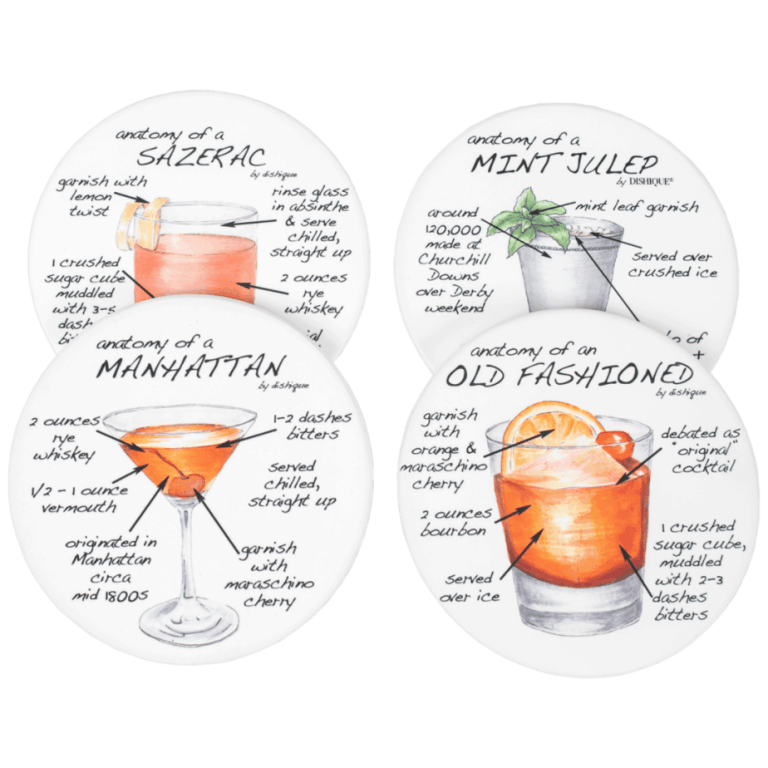 Whiskey Coasters Luxury Gifts