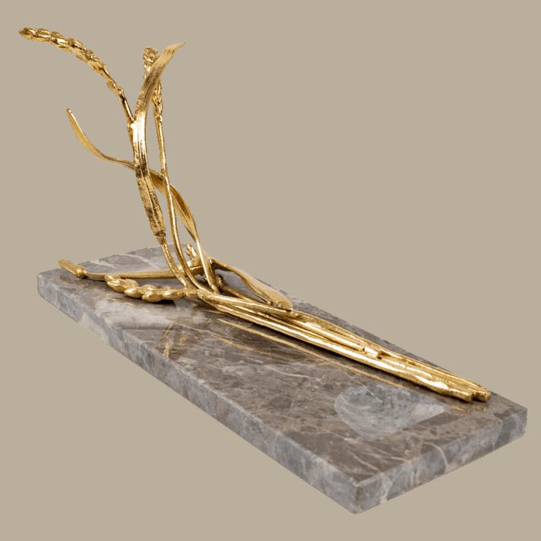 Marble Sculptured Wine Rest