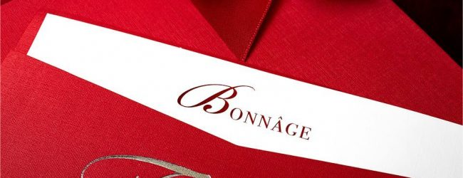 Luxury Thank Your Card from Bonnage